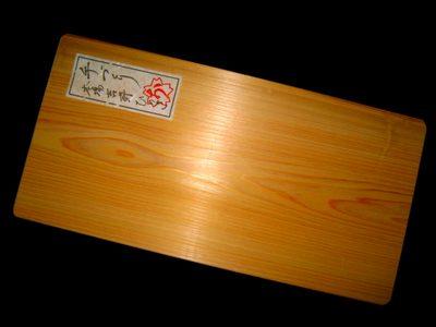 ふるさと納税体験談!奈良県吉野町「手づくり桧まな板」